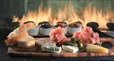 Meat and Cheese Plate @ Harth restaurant