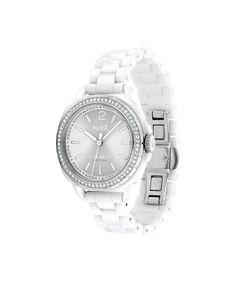 95b9562ee6fe COACH Women s Tatum White Ceramic Bracelet Watch 34mm 14502601
