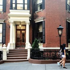 """ryanmat: """" Back in NY, back to work (at Brooklyn Heights Historic District) """""""