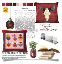 arribachica 3 by mery66 on Polyvore featuring interior, interiors, interior design, dom, home decor, interior decorating, ELK Lighting and WALL