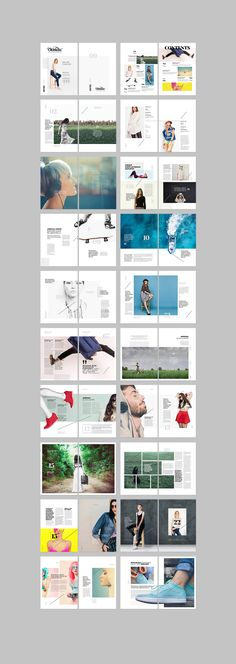Trendy Ideas For Fashion Editorial Design Layout Colour Portfolio Design, Mise En Page Portfolio, Fashion Portfolio, Portfolio Covers, Portfolio Layout, Design Editorial, Editorial Layout, Beauty Editorial, Editorial Fashion
