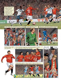 Check out these fantastic illustrations from Philippe Gogowski's brand new @manutd graphic novel. If your New Year resolution is to brush up on your club history, then this is the perfect way.