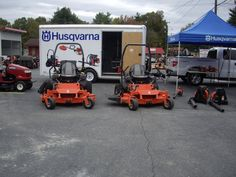 #HusqvarnaDealer Oakboro-Concord-Monroe Tractor Fall Pro Day 2011. https://www.facebook.com/pages/Oakboro-Concord-Monroe-Tractor/248242560638