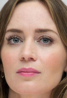 Close-up of Emily Blunt at the 2015 Toronto press conference for 'Sicario'. http://beautyeditor.ca/2015/09/22/tiff-2015