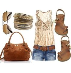 15 Amazing Spring Fashion Trends Ideas For Girls 2013 Dresses For Women Too Cute Summer Outfits, Summer Wear, Short Outfits, Summer Clothes, Summer Time, Casual Summer, Style Summer, Summer Shorts, Summer Nights