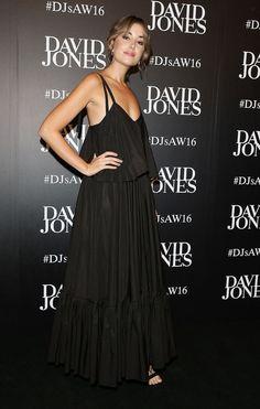 Carmen Hamilton Photos: David Jones Autumn/Winter 2016 Fashion Launch - Arrivals - Celebrity Fashion Trends