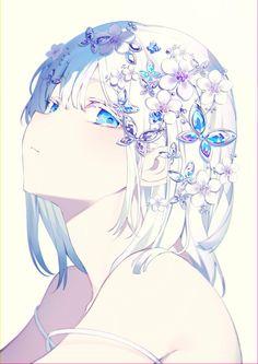 Pretty Anime Girl, Beautiful Anime Girl, Kawaii Anime Girl, Anime Art Girl, Manga Girl, Manga Anime, Anime Girl Drawings, Anime Artwork, Anime Angel