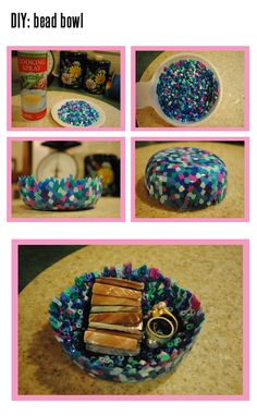 #DIY bead bowl! Get step by step instructions on our blog!