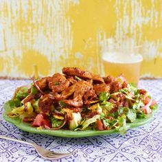 Chipotle Chicken Tortilla Salad - Rachael Ray Every Day