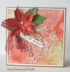 Poppystamps & distress ink backgrounds