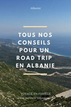 Découvrez notre série d'articles pour partir en famille en Albanie. Voyage en famille #albanie #voyage #europe