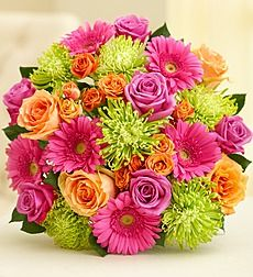 Vibrant Blooms Bouquet from 1-800-FLOWERS.COM
