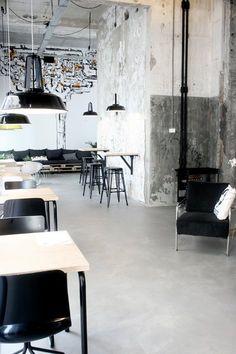 Onder de leidingstraat, Eindhoven, 2014 - Renee Arns Stylist & interior designer #coffeeshop