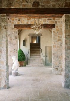 Rustic Exterior by Rela Gleason and McAlpine Tankersley Architecture in Calistoga, California