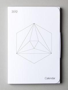 Geometric Calendar via www.inspirationuberalles.com