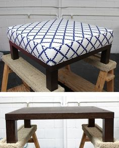 Table to foot stool