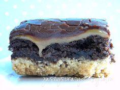 Twix brownies. yes, twix.