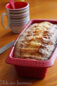 Philo aux fourneaux: Cake aux pommes extra moelleux