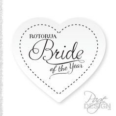 Logo for Bride of the Year Rotorua, New Zealand