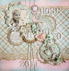 De belles pages inspirantes aux couleurs pastelles!!!
