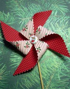 fabric pinwheel tutorial