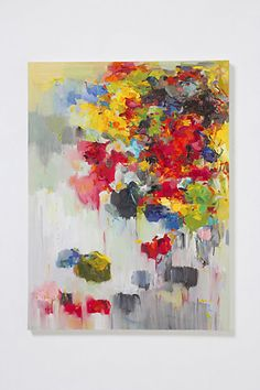 Flower On The Wall 2 By Yangyang Pan #anthropologie