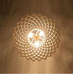 Houten Hanglamp Serie 300
