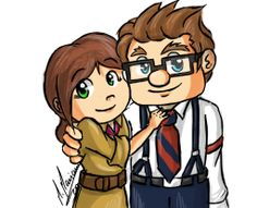 Carl And Ellie by madimar.deviantart.com on @deviantART