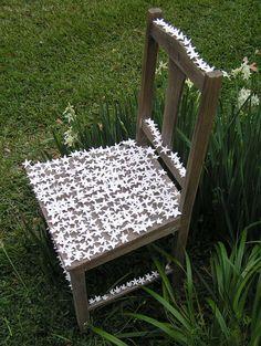 Helen Earl, Bloomin' Chair. 2010