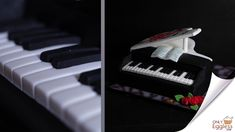 3D Piano Cake 🎹 Piano Cakes, Cake Youtube, Custom Cakes, Special Occasion, 3d, Personalized Cakes, Personalised Cake Toppers