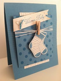 My fellow demos and I put together another awesome swap, each using a stamp set from the new Holiday Mini Catalog. I'll share all of them ev...