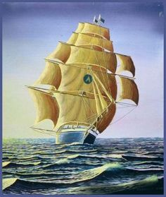 Remember The Beautiful Clipper Ships! (90 pieces)