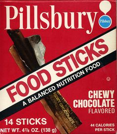 I still think about these tasty little treats.  One more thing that our astronauts advertised.  Of course, we called them SPACE FOOD STICKS.  The Apollo crews were always good for pushin' the cool stuff.