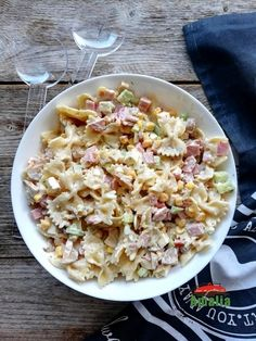Pasta Salad, Pasta Recipes, Food And Drink, Gluten Free, Lunch, Fresh, Ethnic Recipes, Kitchen, Martha Stewart