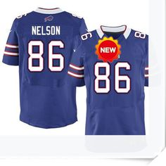$66.00--David Nelson Jersey - Elite Blue Home Nike Stitched Buffalo Bills  Jersey,Free Shipping! Buy it now:http://is.gd/SLshxU