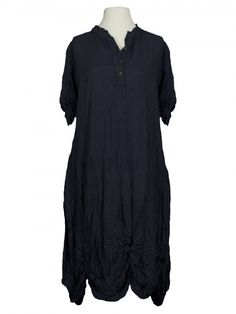 Damen Blusenkleid, schwarz von Manga bei www.meinkleidchen.de