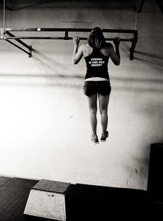 I HATE that I can't do a pullup yet... this is getting so freakin frustration.  How can someone hspu and not pull up?