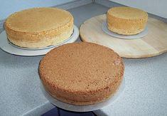 grundrezept biskuitteig f r die springform 2 mal durchschneiden recipe pinterest kuchen. Black Bedroom Furniture Sets. Home Design Ideas