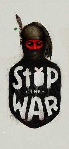 stop the war, Illustration © Имя Захар Крылов