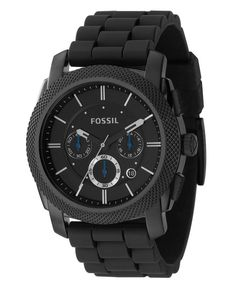 Fossil Watch, Men's Chronograph Black