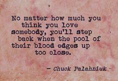 Chuck Palahniuk on Love