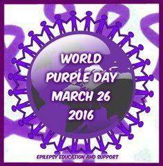 out all the pics. Wear Purple Day, Epilepsy Awareness, Education, Birthday, Birthdays, Onderwijs, Learning, Dirt Bike Birthday, Birth Day