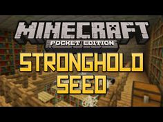 NEW STRONGHOLD SEED! - Minecraft Pocket Edition 0.11.0/0.11.1+ (End Portal Seed) - YouTube