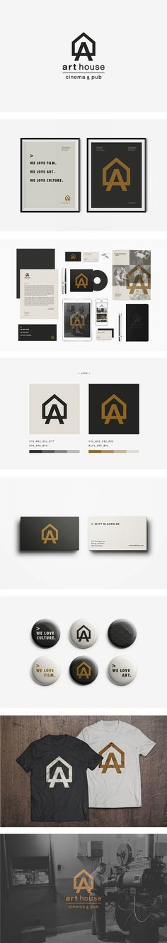 "1. I like the idea of a ""house"", a creative ""space"". 2. clean and bold logo 3. their motto: ""we love art. we love culture. etc..."""