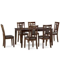 Delran 7-Piece Dining Room Furniture Set, Only at Macy's,  | macys.com