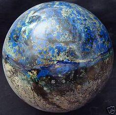 Azurite Sphere. Looks like Earth.