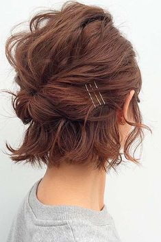 20 Bob Haircut Ideas for Valentine Day, Have you begun getting ready for the current year's Valentine's Day? Are you prepared with that simplest , trendiest haircut, which will enable you to…, Uncategorized - Hair Cutting Style New Short Hairstyles, Hairstyles 2016, Short Haircuts, Bob Hairstyles How To Style, Short Bob Updo, Bob Wedding Hairstyles, Curly Bob Hairstyles, Braid Hairstyles, Formal Hairstyles