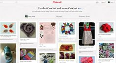 A glimpse at my crochet Pinterest Board
