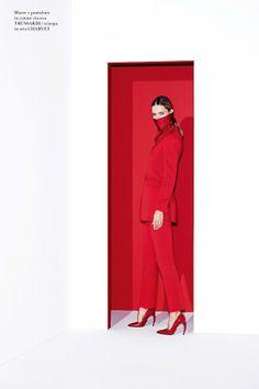 Carmen Kass by Katja Rahlwes for Flair Magazine #9 March 2014