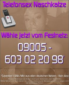 Telefonsex Naschkatze